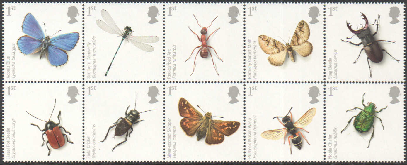 SG2831 / 40 2008 Insects unmounted mint set of 10