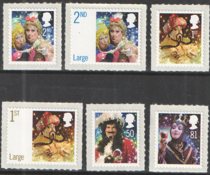 SG2876 / 81 2008 Christmas unmounted mint set of 6