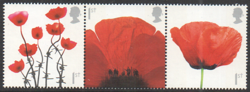 SG2883 / 85 2008 Poppies unmounted mint set of 3