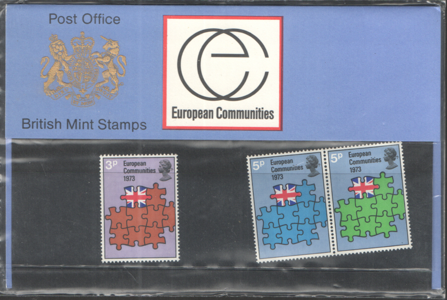 1973 European Communities Royal Mail Presentation Pack 48