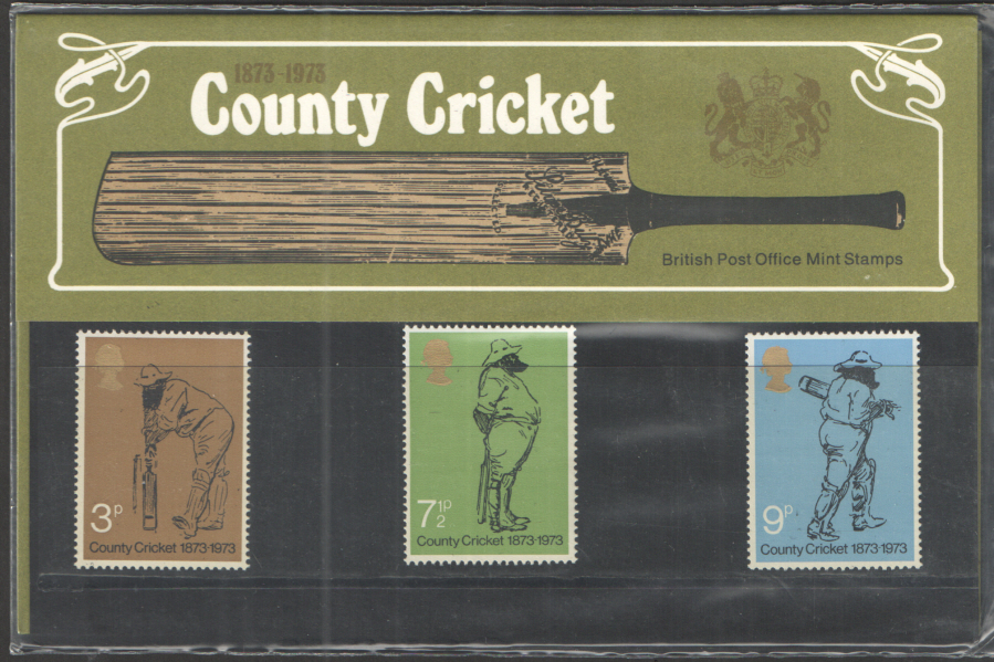 1973 County Cricket Royal Mail Presentation Pack 51