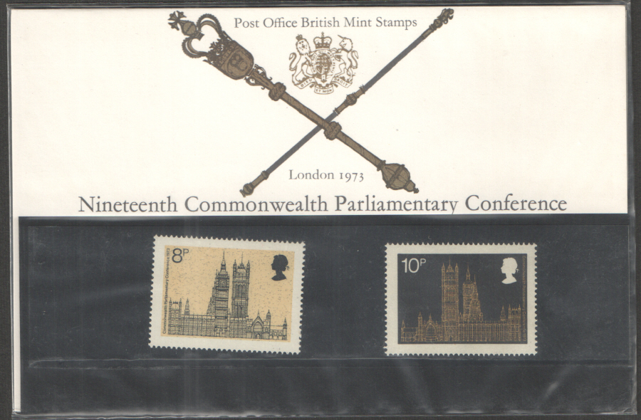 1973 Parliamentary Conference Royal Mail Presentation Pack 54