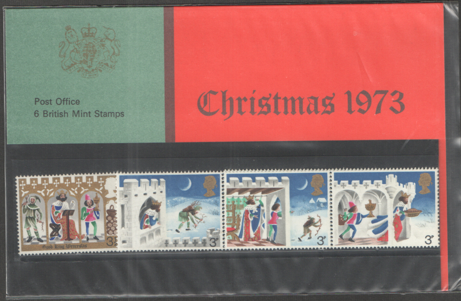 1973 Christmas Type B Royal Mail Presentation Pack 57