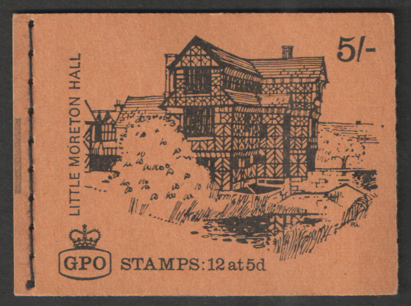 HP27 Feb 1969 Little Moreton Hall 5/- Stitched Booklet