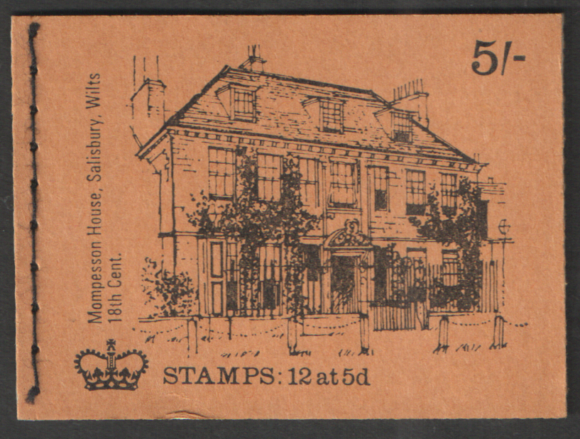 HP31 October 1969 Mompesson House 5/- Stitched Booklet
