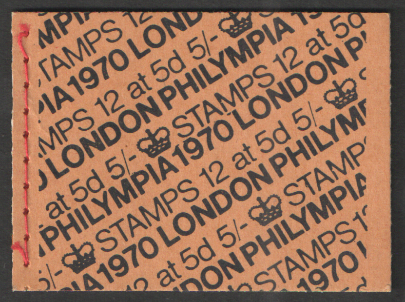 HP34 Philympia London 1970 5/- Stitched Booklet