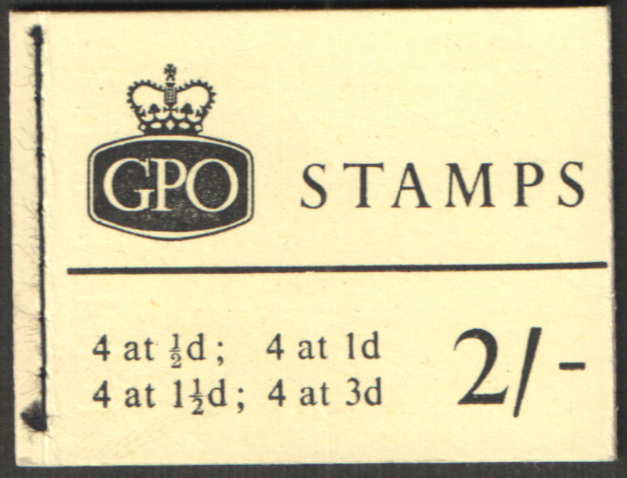 N16 June 1964 Elizabeth II 2/- Stitched Booklet