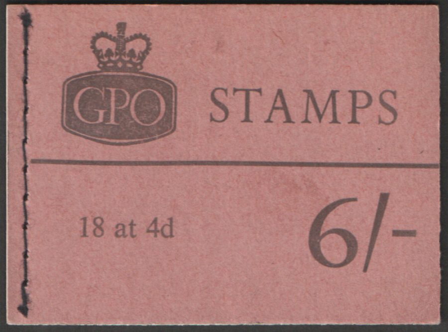 Q24p May 1967 Elizabeth II 6/- Stitched Booklet