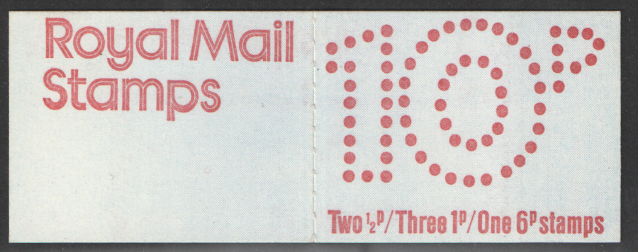 FA2 / DB6(2) Perf E1 Thick Card 10p Folded Booklet