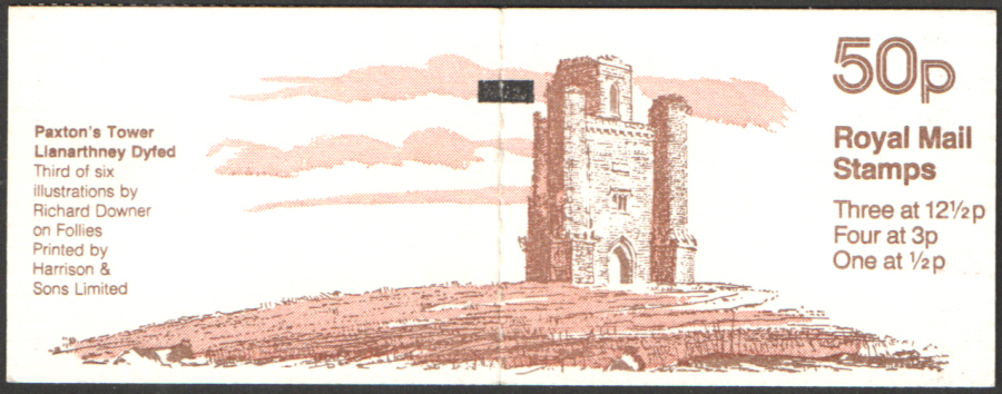 FB19A / DB9(19) + BMB Paxton's Tower 50p Folded Booklet