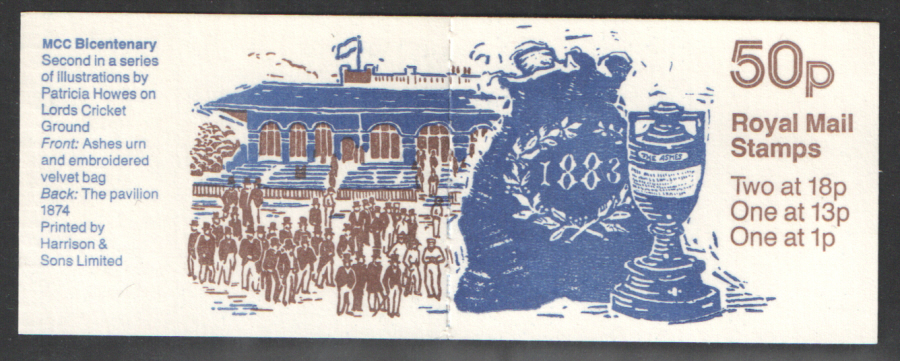 FB40 / DB9(37) 'A' Phosphor MCC Bicentenary No.2 Booklet