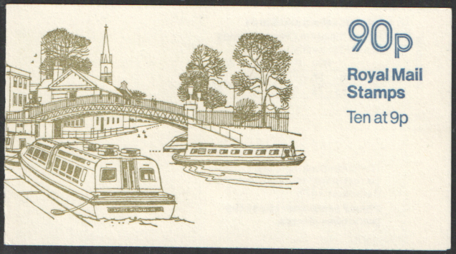 FG6A / DB8(7) Cyl 25 (28) no dot Perf E1 Regents Canal Left Margin Folded Booklet