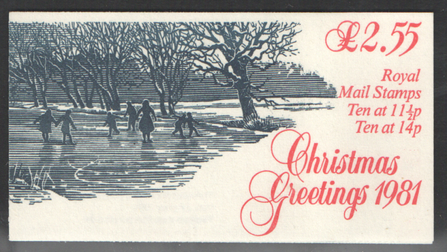 FX4 / DB10(4) Cyl - (B41) 1981 Christmas Booklet