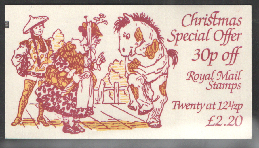 FX6 / DB10(6) + BMB Thick Value 1983 Christmas Booklet