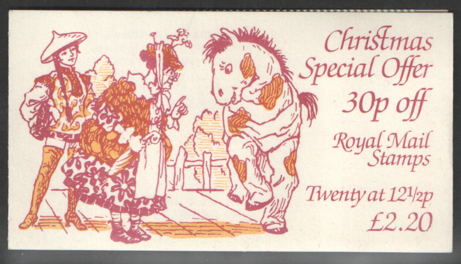FX6 / DB10(6) Cyl B36 (B49) -13mm Thick 1983 Christmas Booklet
