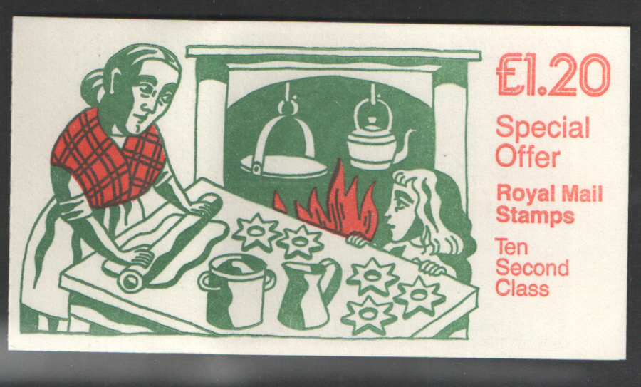 FX9B / DB7(34)A Cyl B12 (B62) 1986 Right Margin Christmas Booklet