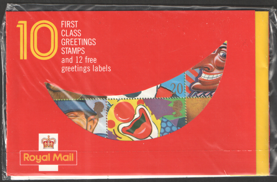 KX1 / DB13(2) 1990 Smiles Greetings Booklet