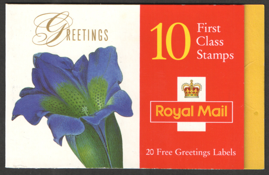 KX9a / DB13(10)A Long Wave 1997 Flowers Greetings Booklet