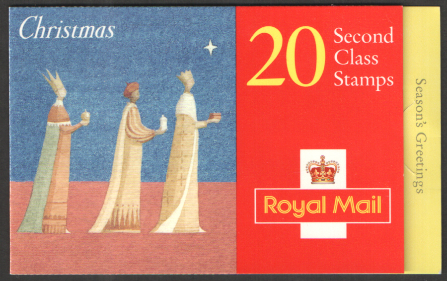 LX12 / DB12(15) 1996 20 x 2nd Class Christmas Booklet