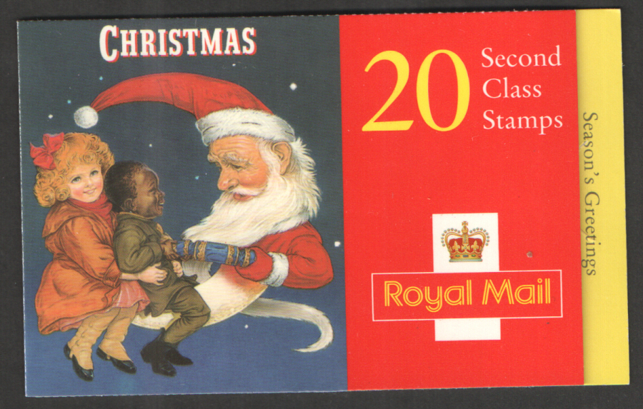 LX14 / DB12(17) 1997 20 x 2nd Class Christmas Booklet