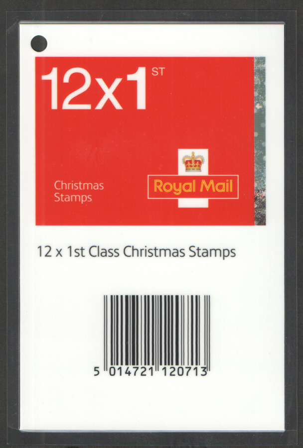 Christmas 2006 1st & 2nd Class Booklets Barcode Scanning Tag