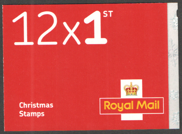 LX52 / SB6(31) 2016 12 x 1st Class Christmas Booklet