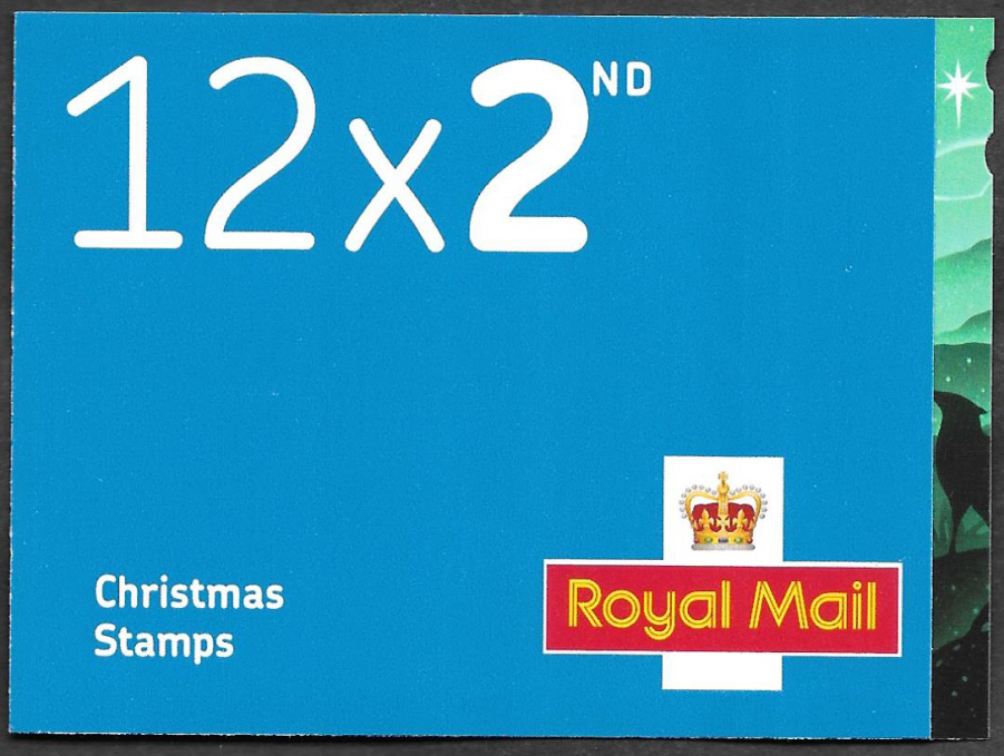 LX59 / SB6(40) 2019 12 x 2nd Class Christmas Booklet