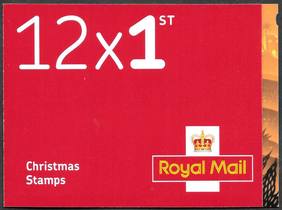 LX60 / SB6(39) 2019 12 x 1st Class Christmas Booklet