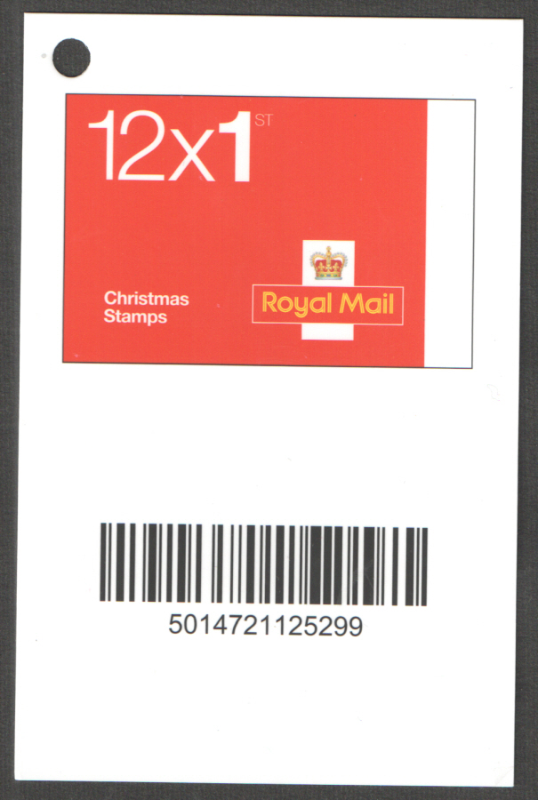 Christmas 1st & 2nd Class Booklets Barcode Scanning Tag