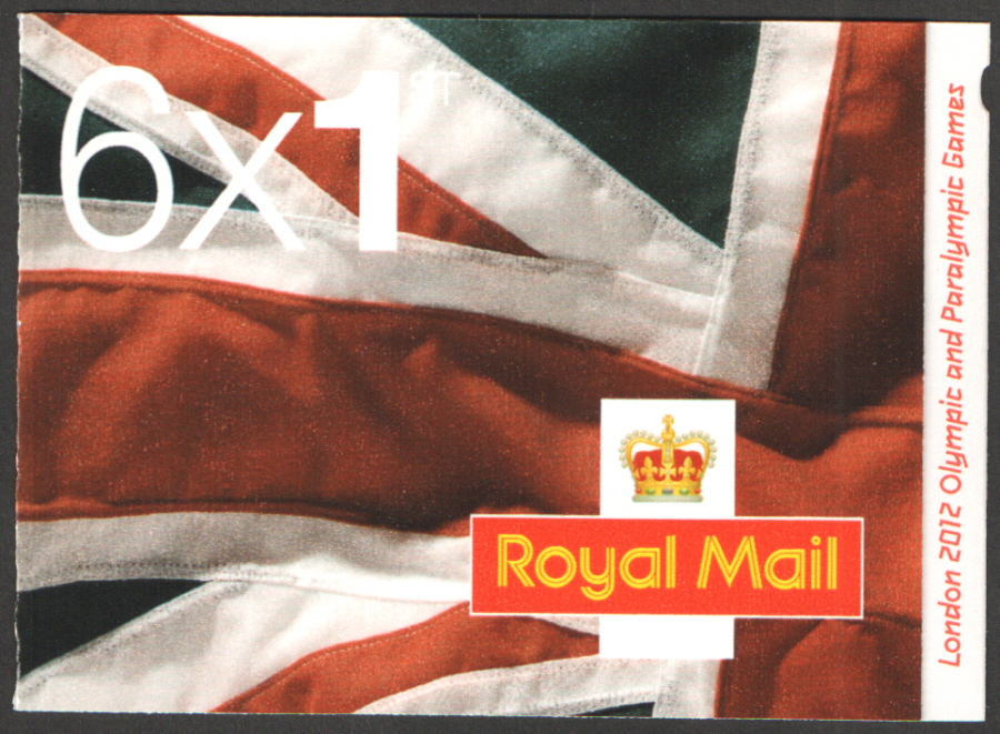 "MB10 / SB5(22) ""Key Dates"" London 2012 6 x 1st Class Booklet"