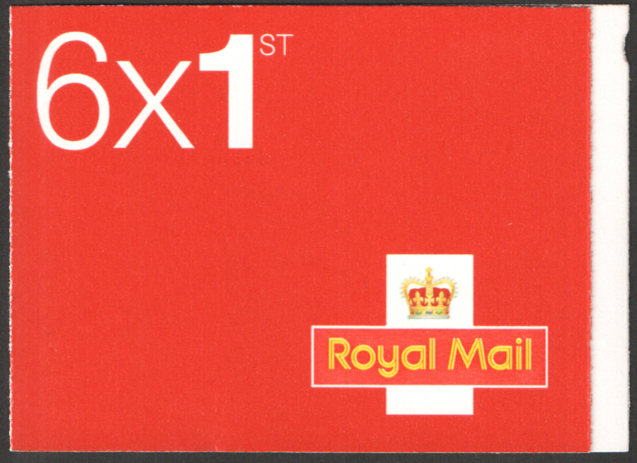 MB12 / SB5(24)B M14L / MSIL Royal Mail Red 6 x 1st Class Booklet