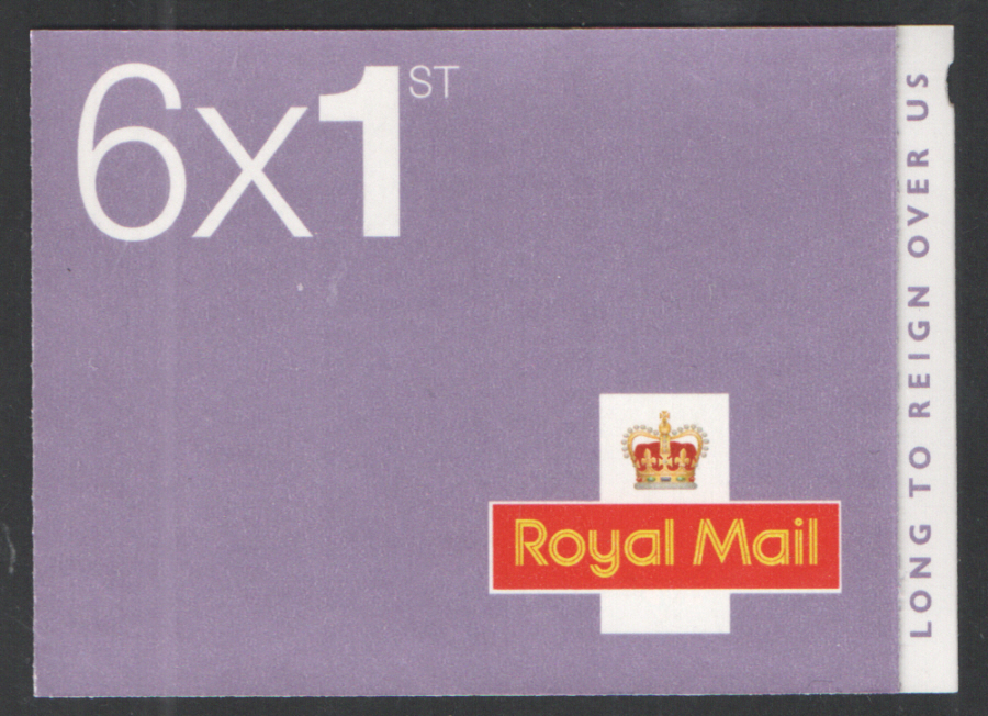 MB14 / SB5(27) Cyl W1 W1 (W3) 2015 Long To Reign Over Us 6 x 1st Class Booklet