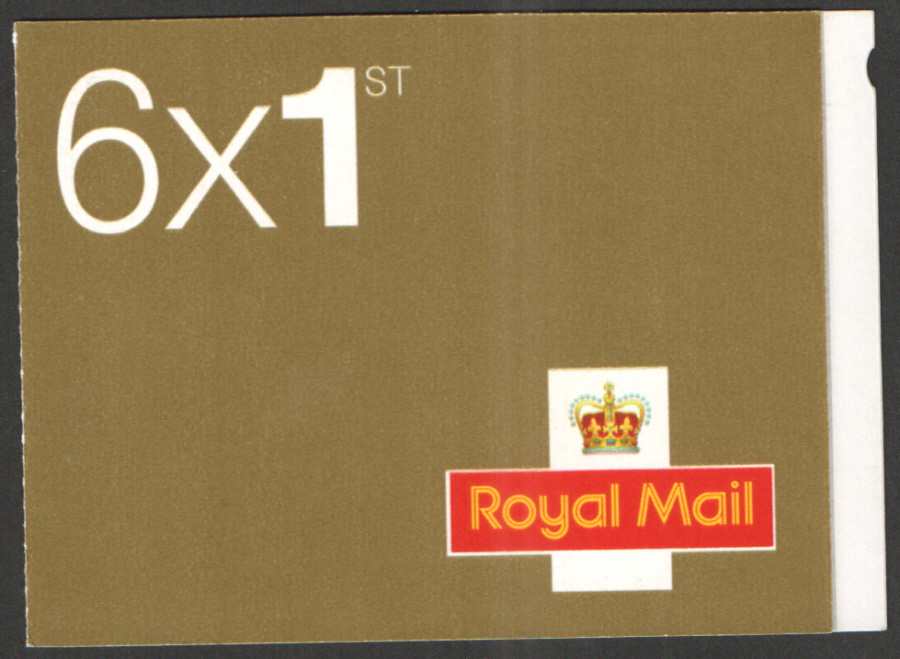 MB4a / SB5(4) Bride Smilers Advert Walsall 6 x 1st Class Booklet