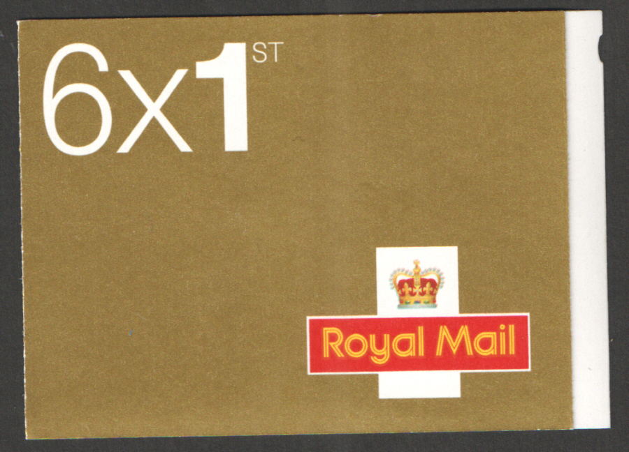 MB4c / SB5(12) 2007 Walsall 6 x 1st Class Booklet