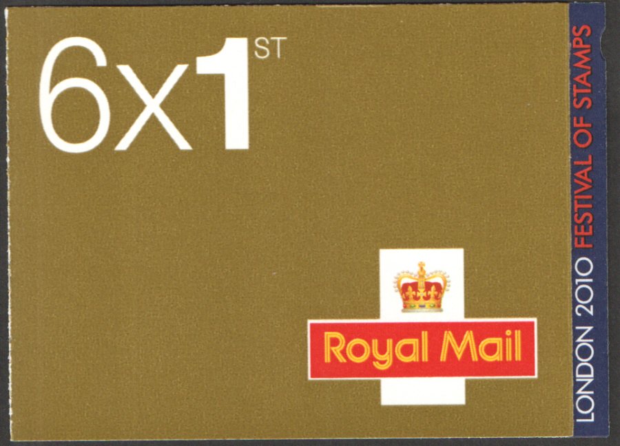 MB8b / SB5(19) London Festival of Stamps 6 x 1st Class Booklet