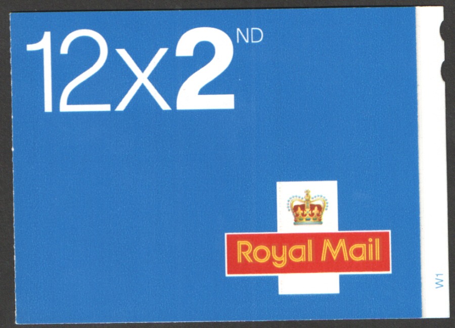 ME4a / SB2(6) Cyl W1 (W1) 2006 Walsall 12 x 2nd Class Booklet