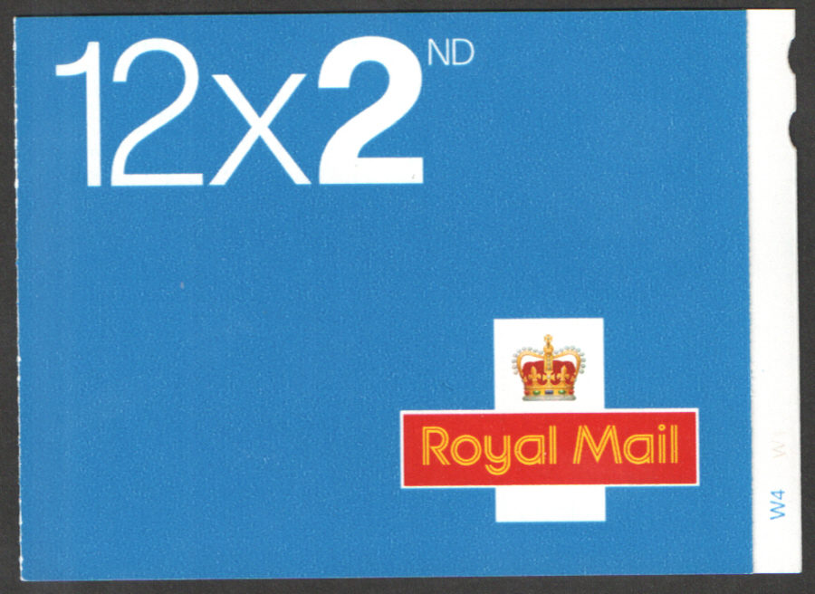 ME5c / SB2(12)A Cyl W4 M12L / MTIL Walsall 12 x 2nd Class Self Adhesive Booklet