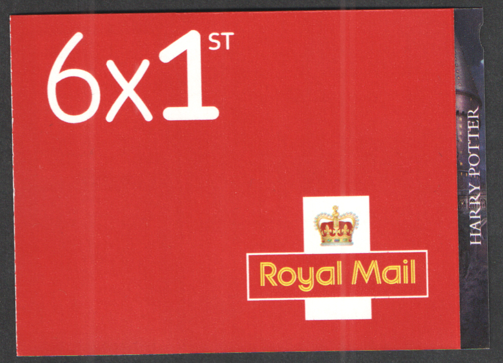 PM64 / SB3(64) Cyl W1 2018 Harry Potter 6 x 1st Class Booklet