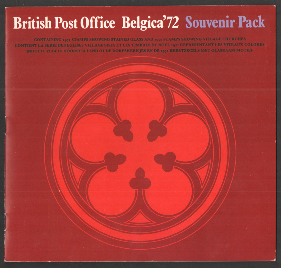 1972 Belgica British Post Office Souvenir Book
