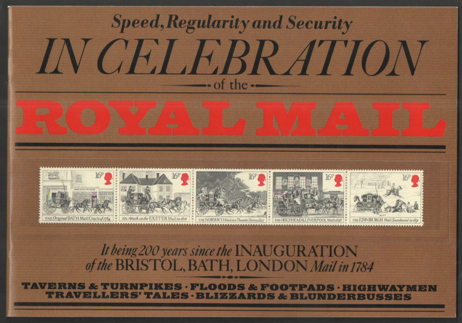 1984 Mail Coach Run Souvenir Book