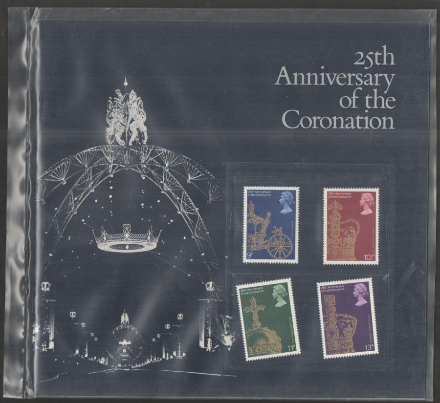 1978 Coronation 25th Anniversary Souvenir Book / Folder