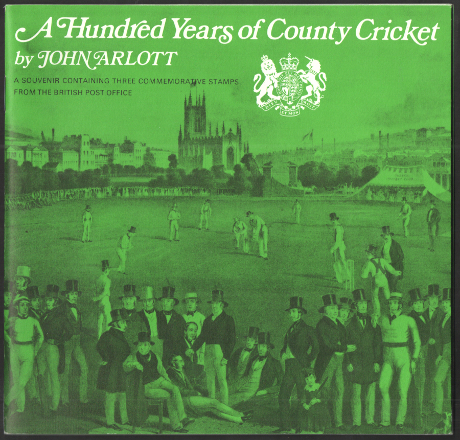 1973 County Cricket Souvenir Book