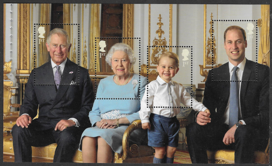 Pane DP501 from 2016 HM the Queen's 90th Birthday Prestige Booklet