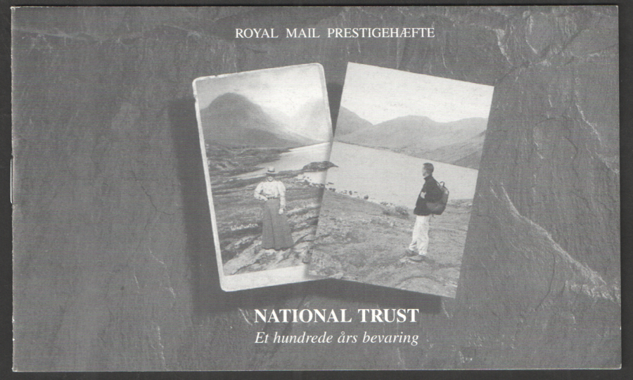 Danish promotional booklet for DX17 / DB5(17) 1995 National Trust Prestige Booklet