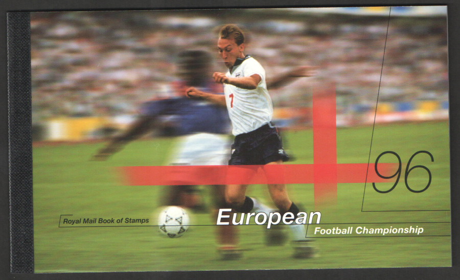 DX18 / DB5(18)/? Front Cover Duplicated 1996 European Football Prestige Booklet