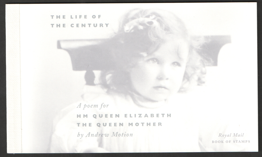 DX25 / DB5(25) 2000 Queen Mother 100th Birthday Prestige Booklet