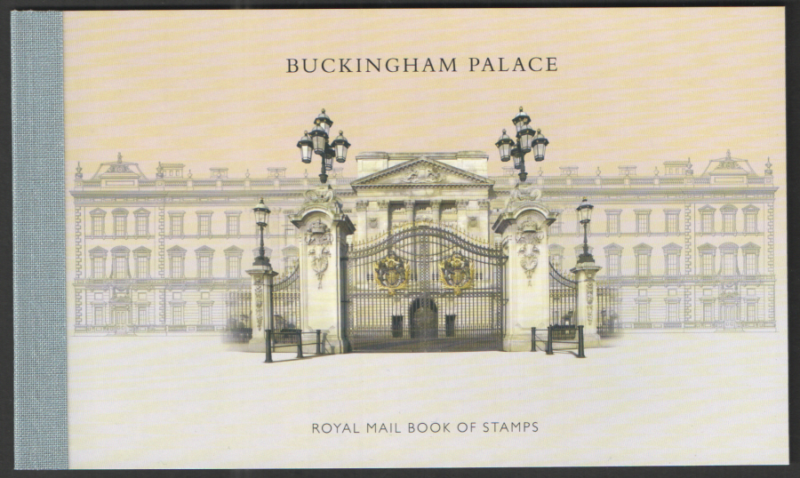 DY10 / DB5(62) 2014 Buckingham Palace Prestige Booklet
