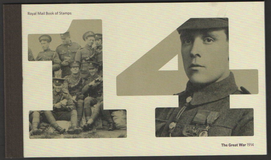 "DY11 / DB5(63) 2014 ""The Great War 1914"" Prestige Booklet"