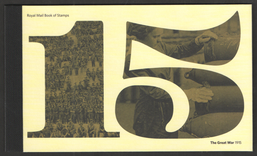 "DY13 / DB5(65) 2015 ""The Great War 1915"" Prestige Booklet"
