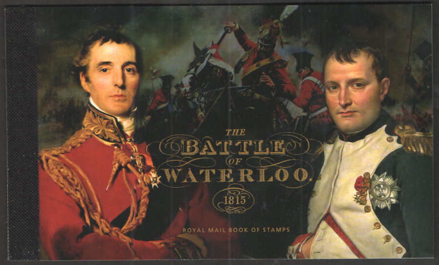 DY14 / DB5(66) 2015 Battle of Waterloo Prestige Booklet